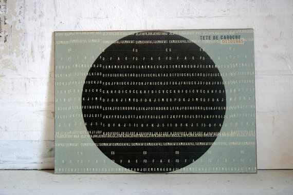 estampe numérique / impression au laser par tetedecaboche1965, $5,00: Photos, Cp 133P, Linda Vachon, Of Caboche, Head