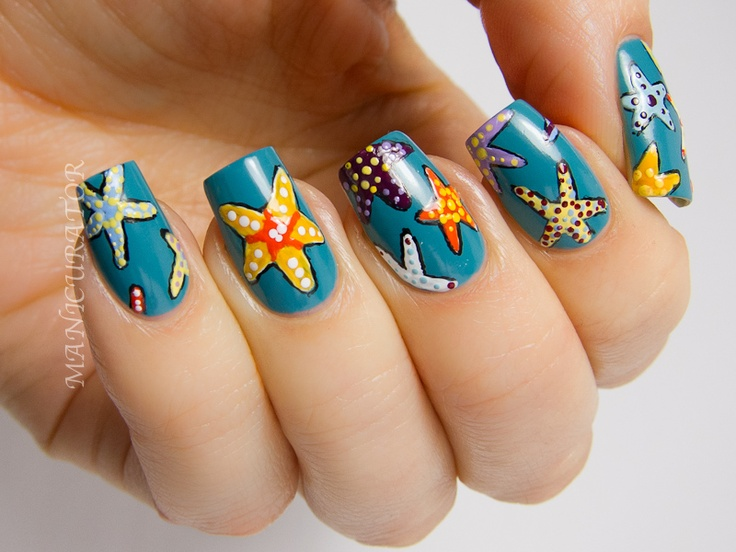 Starfish | Nail Art | Pinterest