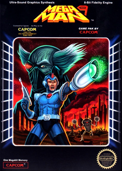 Mega Man 9 #nintendo #gaming #gamer