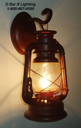 Wall Sconce - Rustic Lantern Light Fixture - DX806