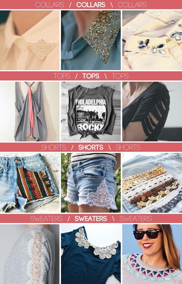 diy fashion projects - diy mode - zelf kleding maken