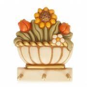 Portastrofinacci Thun Appendino vaso con fiori Linea Country