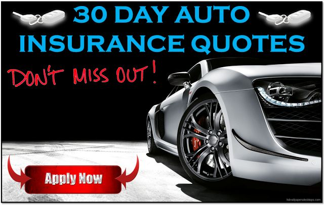 Cheapest 30 Day Car Insurance Policy with Online Quotes