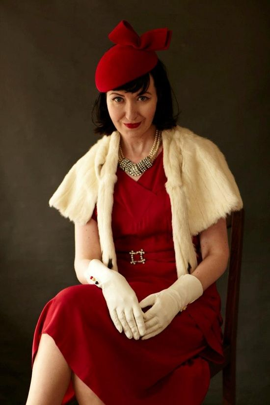 Goodwood Revival 2012: my top 20 best dressed  #vintage #fashion
