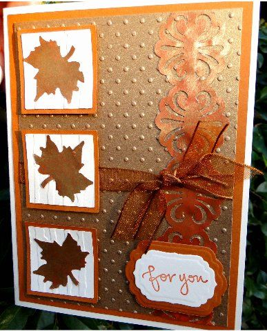 Thanksgivng by jasonw1 - Cards and Paper Crafts at SplitcoaststampersFall Thanksgiving Cards, Fall Colors, Embossed Fall Cards, Thanksgivng, Autumn Fall Card, Jasonw1, Paper Crafts, Fallthanksgiving Cards, Splitcoaststampers Cards Fall