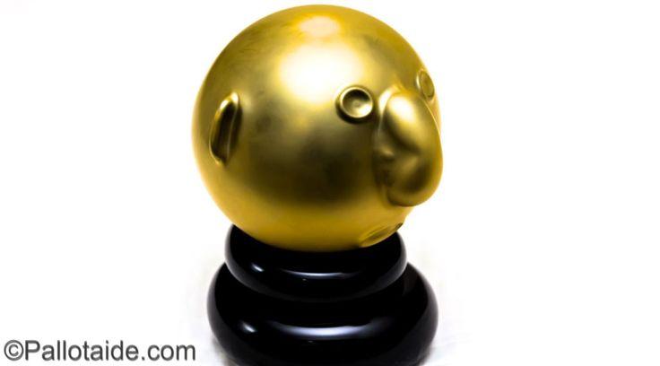 gold face - 100% latex balloons