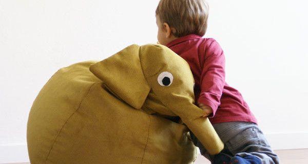 Poltrona per bambini o tenero animale di pezza? Ecco il Saccotto