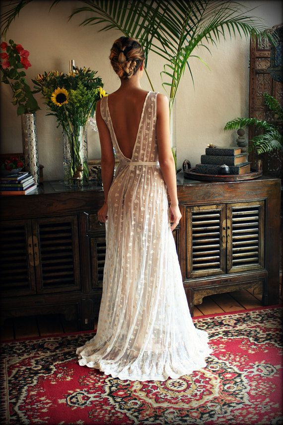 Chemise de nuit Lingerie de mariée WeddingArt par SarafinaDreams