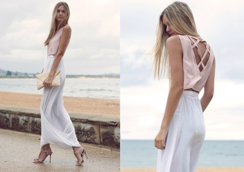 tuula vintage: muted lookFashion, Heels Lookbook, Summer Outfit, Pastel Pink, Jessica Stein, Pale Pink, Long Skirts, High Heels, Cut Out