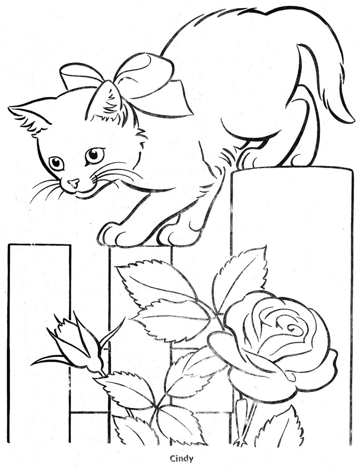 coloring bookthe three little kittens bonnie jones picasa webalbum