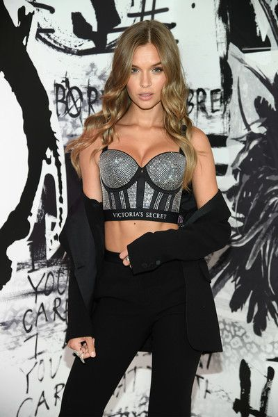 9d1d19570e4 Victoria s Secret Angel Josephine Skriver shares her favorite VS x BALMAIN  looks from the runway and hottest holiday gifts at Victoria s Secret