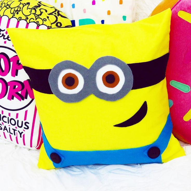"""10.2k Likes, 150 Comments - Gillian Bower (@gillian_bower) on Instagram: """"How cute is this minion pillow?! 💛 I'm so excited for #despicableme3 😃 To celebrate the release of…"""""""