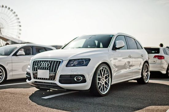 Audi Q5 - my dream car in Pearl White. Swoon.