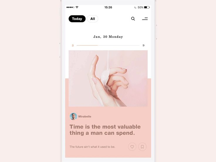 UI Interactions of the week #86 – Muzli -Design Inspiration