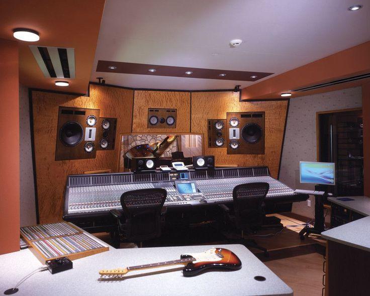A humble little studio inside a church. http://earth66.com/audio-video/humble-little-studio-inside-church/