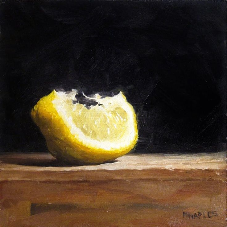 MICHAEL NAPLES: Lit Up Lemon Wedge