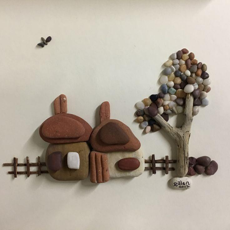 Pebbleart house by gülen