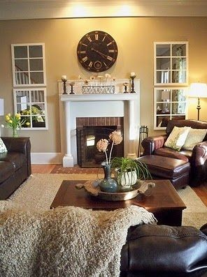how to place mirrors to make a room look bigger - Google Search