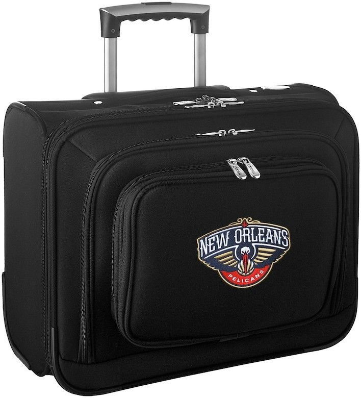 Denco Sports Luggage New Orleans Pelicans 16-in. Laptop Wheeled Business Case