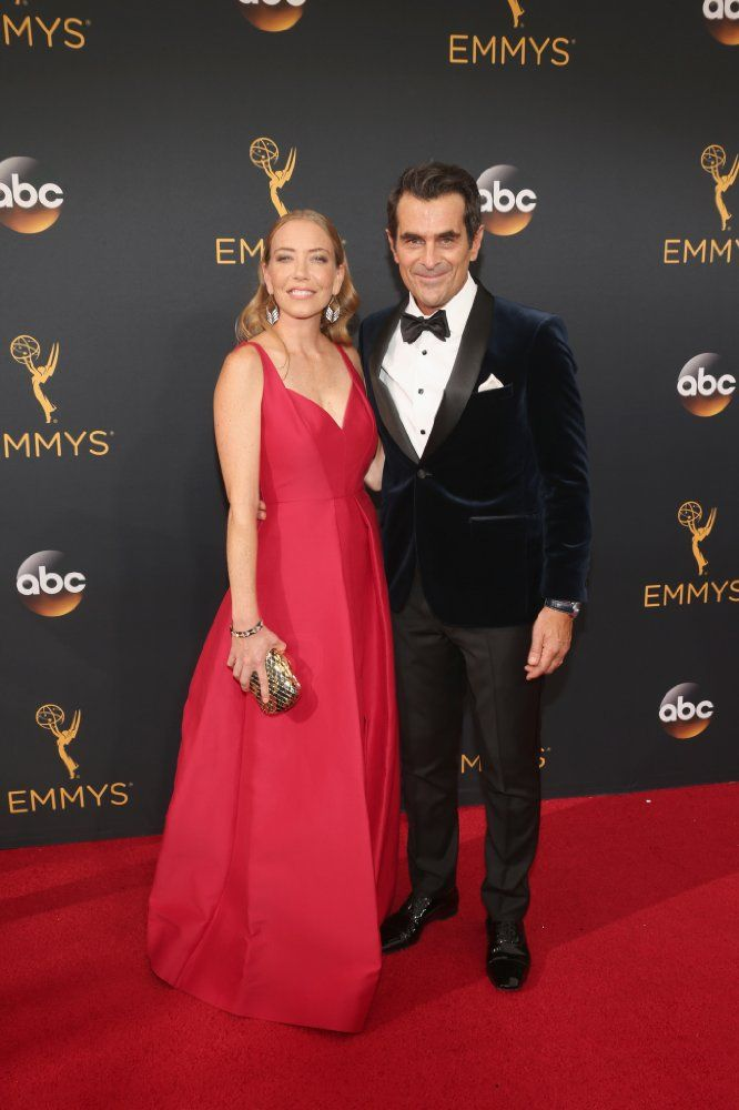 Ty Burrell and his wife