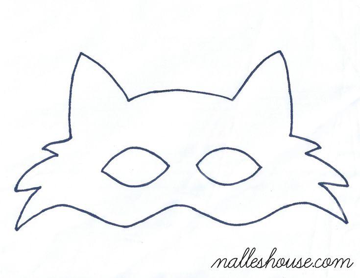 Halloween DIY Fox Mask