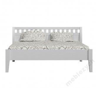 Łóżko sosnowe białe 180x200 nowość. PL7018