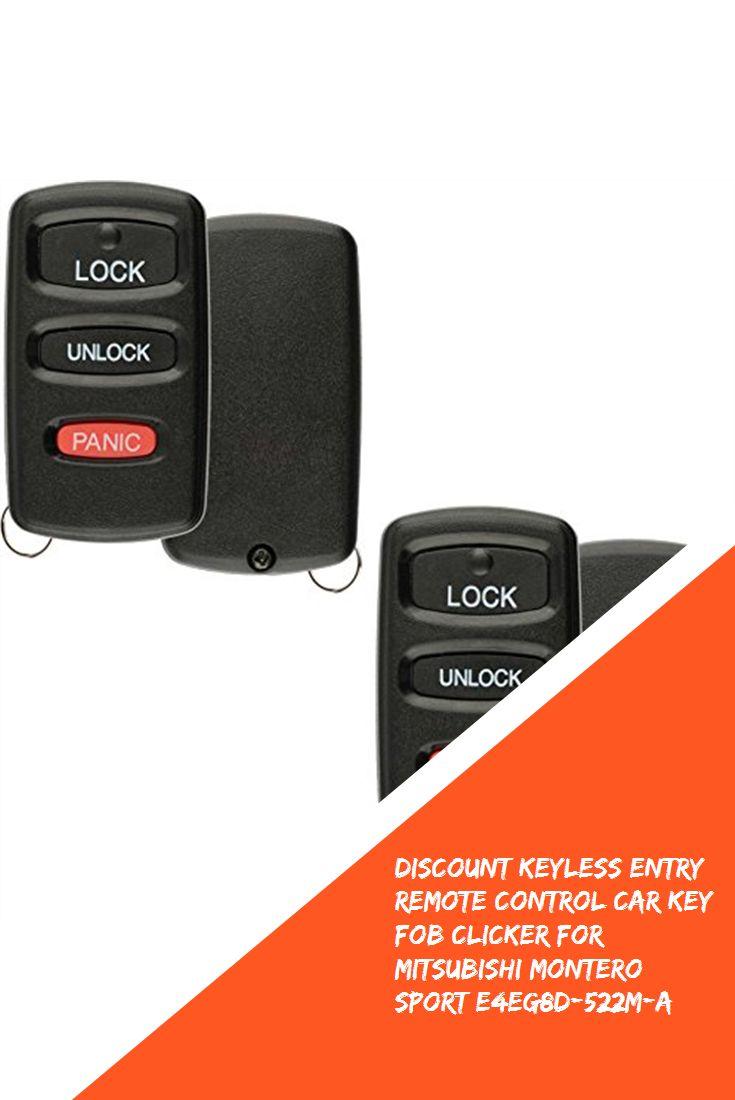 Discount Keyless Entry Remote Control Car Key Fob Clicker ...
