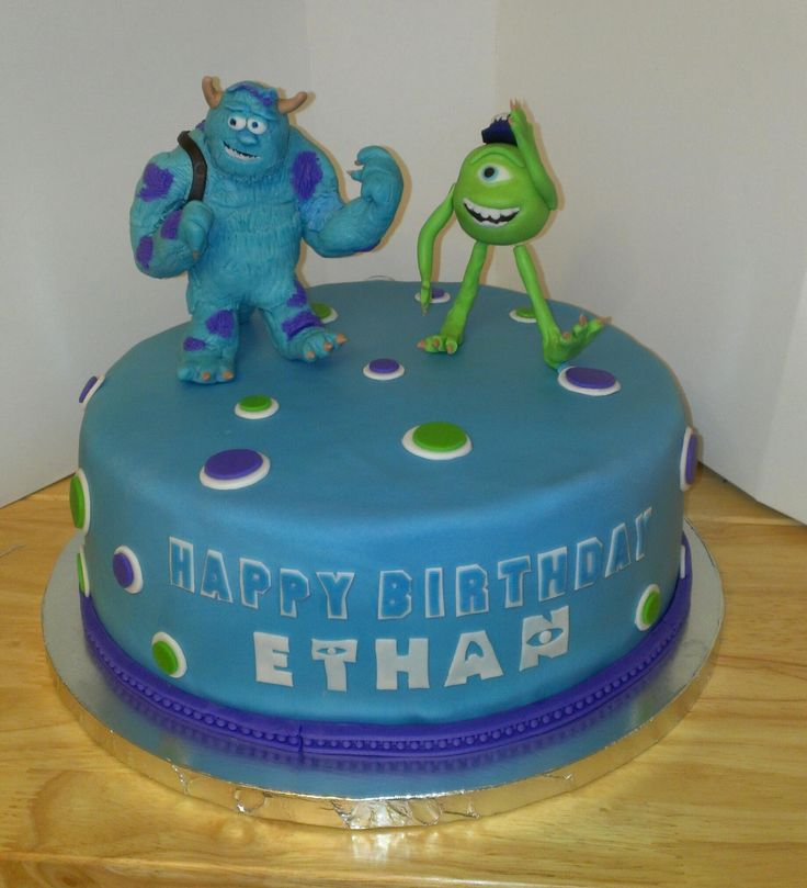 My Monster's University Cake