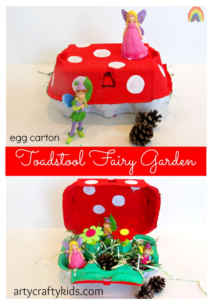 Arty Crafty Kids - Toadstool Egg Carton