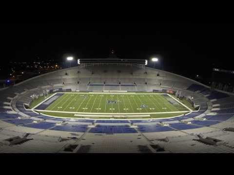 Liberty Bowl Field Painting Timelapse