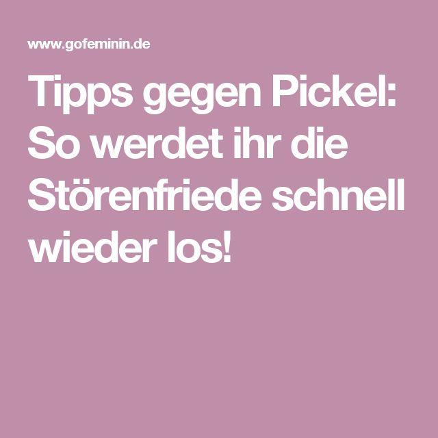 Tipps gegen Pickel: So werdet ihr die Störenfriede schnell wieder los!