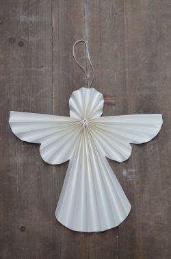 IB LAURSEN / Papírový anděl 30 cm