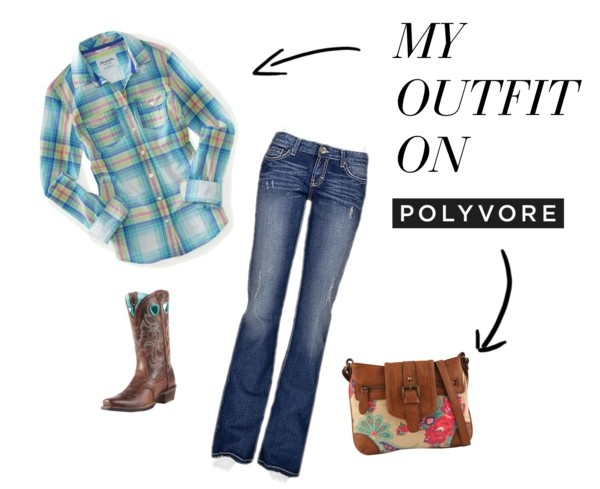 """""""Cute Cowgirl Outfit"""" by classicalgirl312 on Polyvore"""