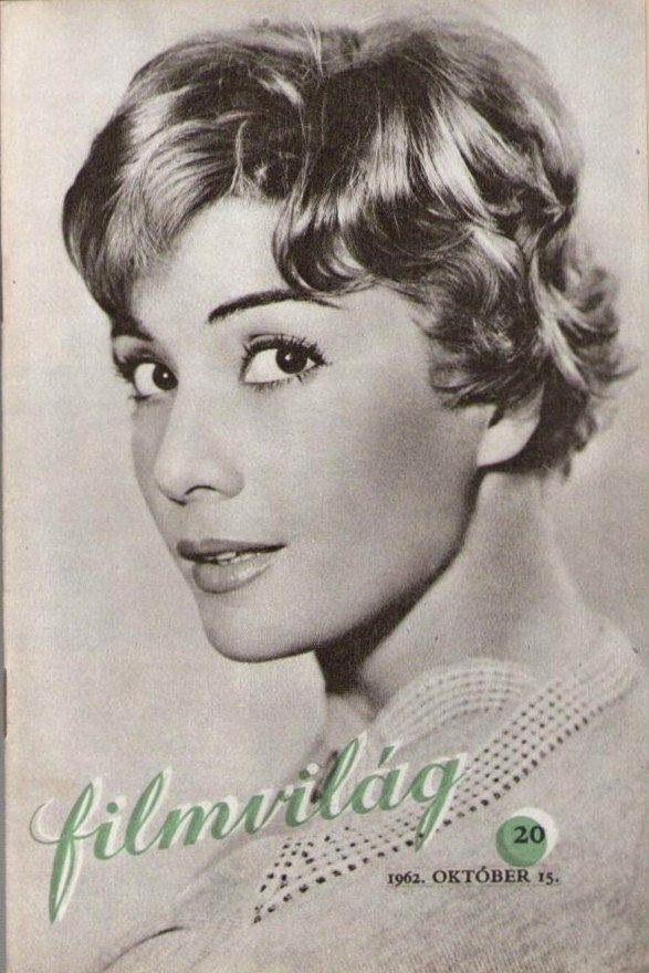 Filmvilág 20. - 1962. október 15. V. évf. 20. szám - Bara Hargit - 'Kertes házak utcája' (folyóirat)