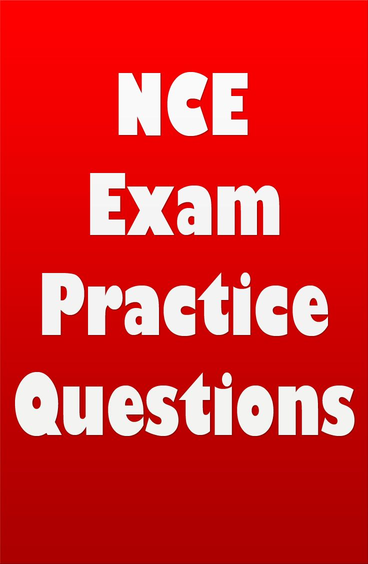 10 best nce texas jurisprudence exams images on pinterest are you studying to become a counselor if so youll need to check out these nce exam practice questions for the national counselor exam xflitez Image collections