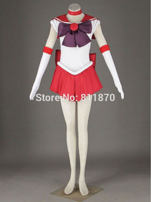 >> Click to Buy << Sailor Moon Cosplay Sailor Mars Hino Rei Sera Masu Costume Women's Dress Sailor Suits Battle Suit #Affiliate