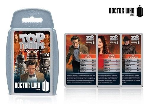 Gamerzoutlet.com - Top Trumps Doctor Who Series 7 Pack (2013) - New | Toys, $8.54 (http://www.gamerzoutlet.com/top-trumps-doctor-who-series-7-pack-2013-new-toys-games/)
