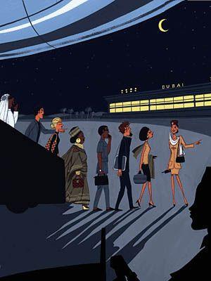 Jordi Labanda's Fashion Illustrations
