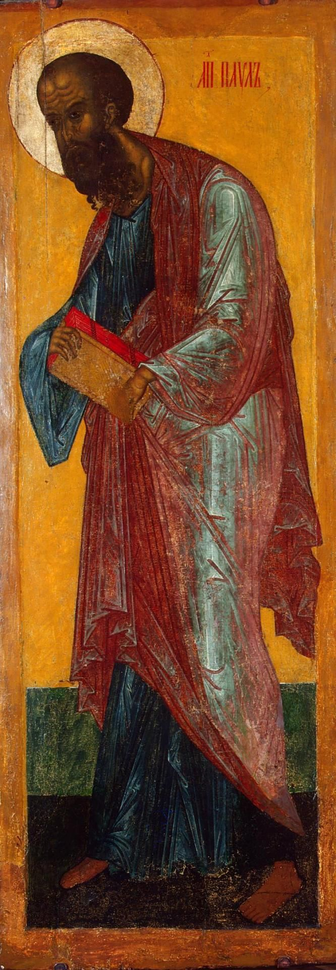 Icon: St Paul Russia, Late 15th - early 16th century The icon of St Paul comes from a Deisis Tier,
