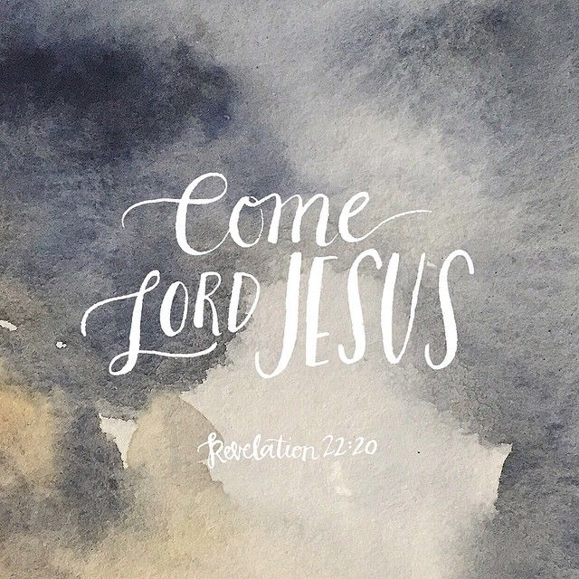 "thelordismylightandmysalvation: ""He who testifies to these things says, 'Yes, I am coming soon.' Amen. Come, Lord Jesus."" ~ Revelation 22:20  ✞"