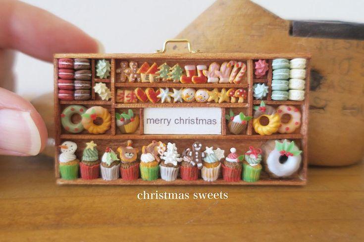 2017.10 Miniature Christmas By pansbear