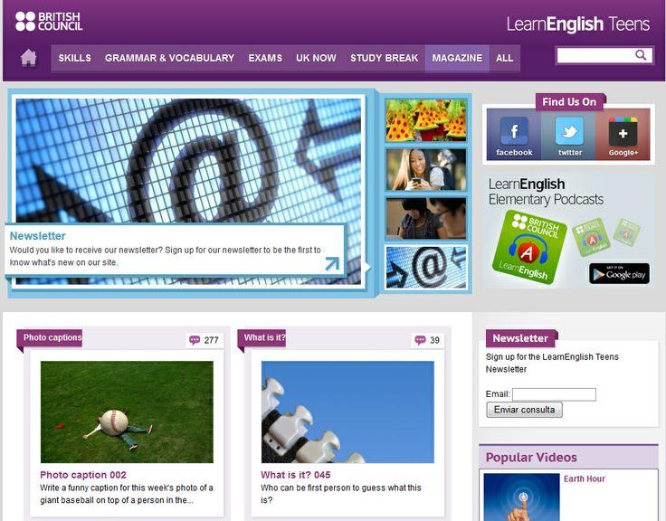 recursos de llengua anglesa per a teenagers