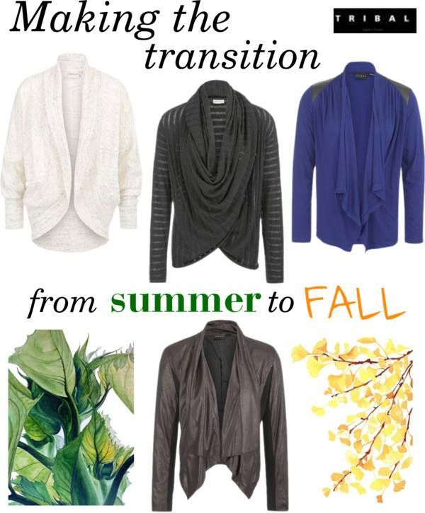 Summer clothes transition easily into fall when you wear these sweaters and jackets over them. #tribalsportswear #fallfashion #fashion #fall2014