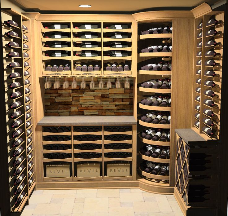 Outside Lights Nuisance: This Is A Tiny Wine Cellar, 47 Square Feet, That Holds 470