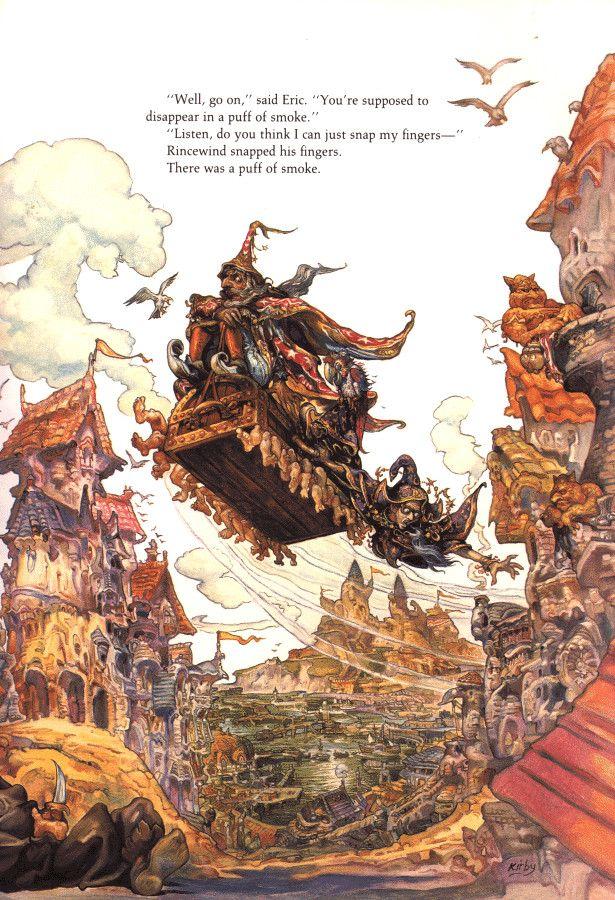 Terry Pratchett's Discworld by Josh Kirby