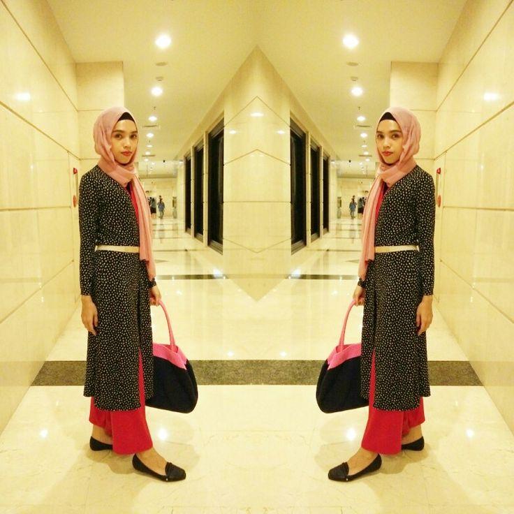 Long cardi by @mwfashionwear  #Ootd #HijabFashion #HijabStyle