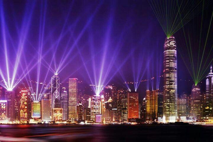 Hong Kong China. #vistanocturna