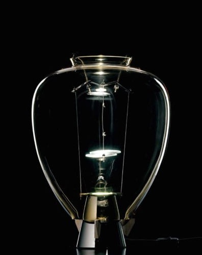 design table lamp (Murano glass) S: VERONESE by Umberto Riva Barovier & Toso