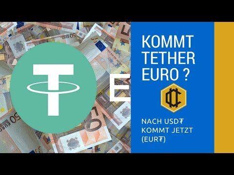 Nach dem umstrittnen Digital USD (USD₮) gibt Tether einen Tether Euro frei. Tether behauptet das USDT ein mit US Dollar gestütztes Digital Fiat Geld ist. Deswegen war es auch letzter Zeit ein heißer Gesprächsthema. Das Unternehmen Tether Limited war bisher damit auch sehr erfolgreich. Es wird aber von vielen bezweifelt das es mit echten Fiatgeld […] Der Beitrag Kommt Tether Euro? erschien zuerst auf Kryptowährung Geheimnisse.