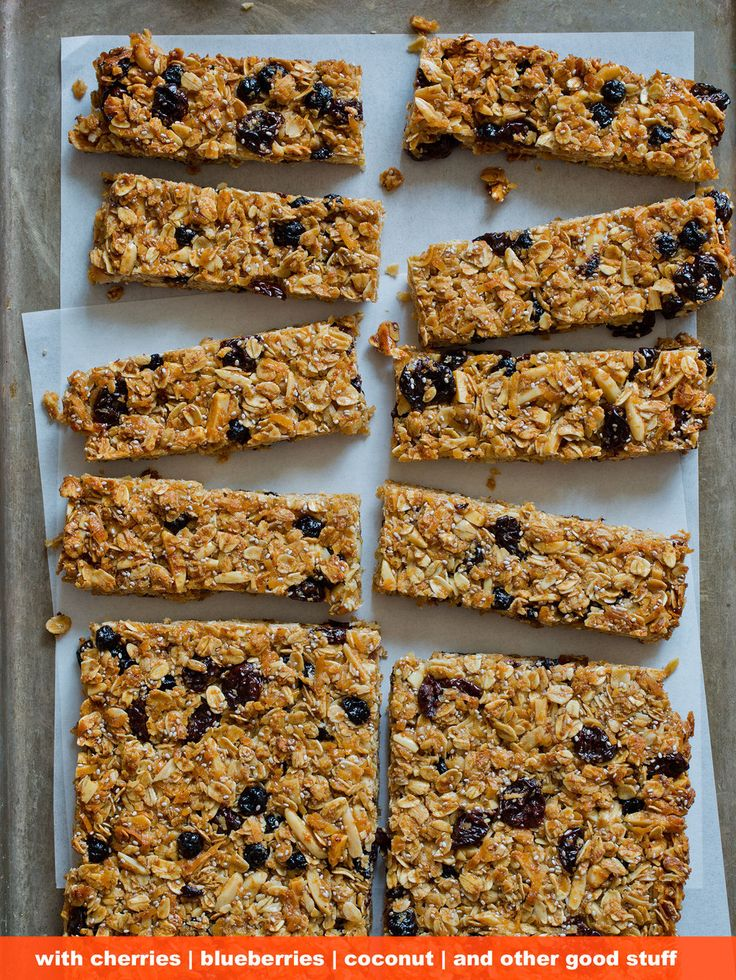 Make your own energy-packed snacks for hiking, picnicking, road trips, or wherever else you end up.